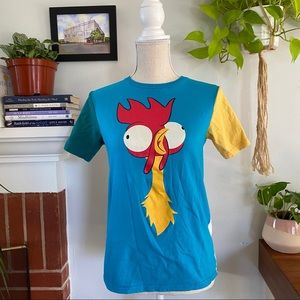 Disney's Moana Hei Hei and Pua shirt kids size XL